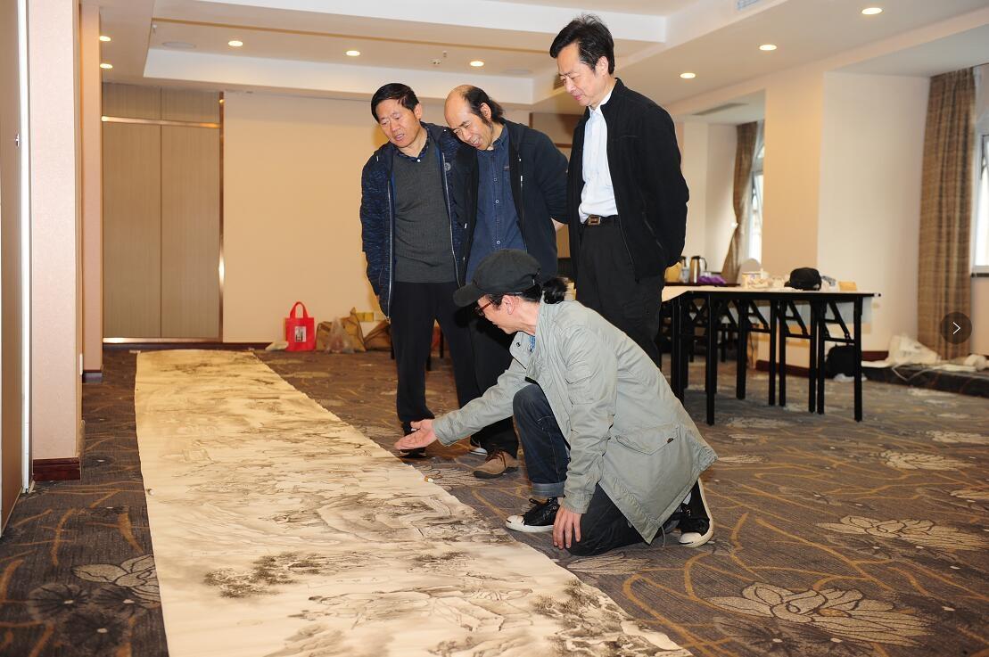 著名画家张猛,廖勤,徐航,著名画家梁时民,李青稞,魏明阳,巫成金,周平图片